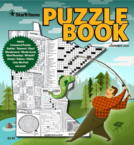 Star Tribune Puzzle Book Cover